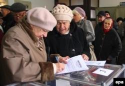 Выборы в Луганске, 2 ноября