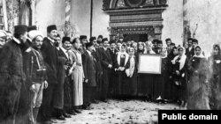 Беренче корылтай делегатлары һәм кунаклары, Бакчасарай, 26 ноябрь 1917