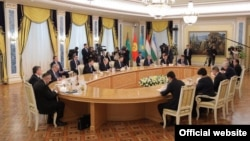 Central Asian leaders convene for the latest regional summit in Astana on March 15.