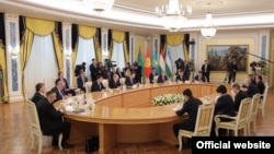 Встреча лидеров стран Центральной Азии в Астане, 15 марта 2018 года.