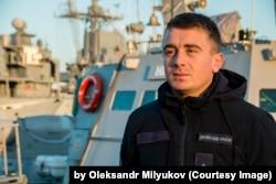 Богдан Небылица, старший лейтенант ВМС Украины