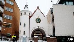 Ослодағы синагога. 12 қаңтар 2015 жыл. (Көрнекі сурет)