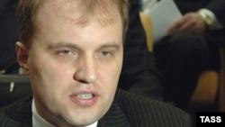 Evgheni Şevciuk, fostul şef al legislativului transnistrean