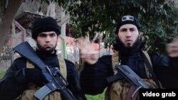 """Боевики """"Исламского государства"""" в пропагандистском ролике собственного изготовления"""