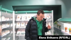 Иван Зайченко в своем магазине