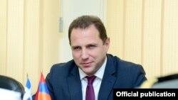 Первый замеcтитель министра обороны Армении Давид Тоноян (архив)