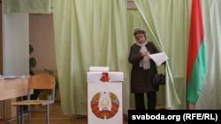 Папярэдняе галасаваньне падчас прэзыдэнцкіх выбараў 2010 году