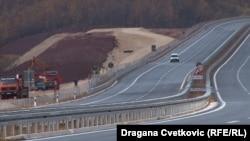 Dio autoputa na koridoru 10 kroz Srbiju