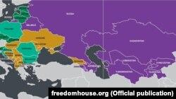 Таджикистан входит в число семи консолидированных авторитарных режимов среди стран бывшего социалистического блока