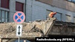 Демонтаж Шулявського мосту в Києві розпочався у березні 2019 року