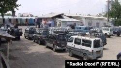 """""""Терминали Бадахшон"""" дар шаҳри Душанбе."""