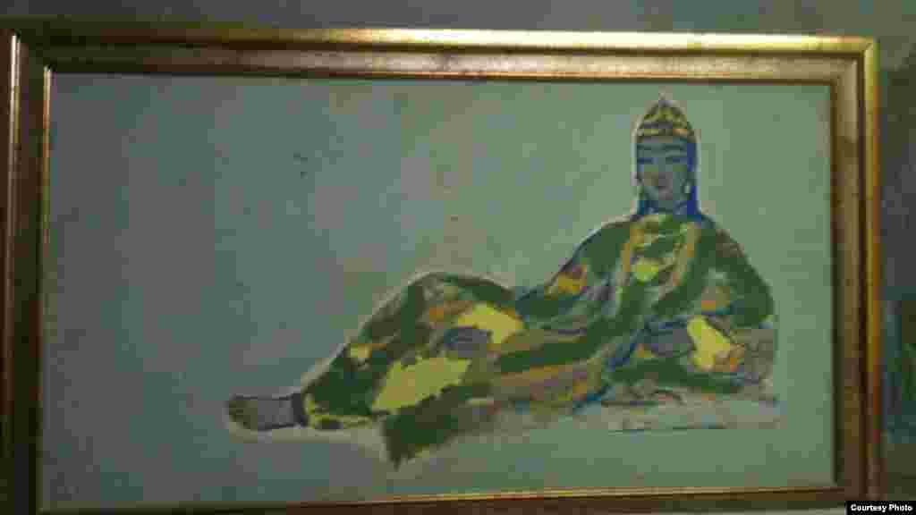 """Akhmarov's """"Uyghur Girl."""""""