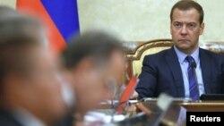 Kryeministri rus, Dmitry Medvedev.