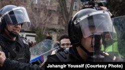 Сотрудники полиции Баку. Иллюстративное фото.