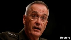 Joseph Dunford, chairman of the Joint Chiefs of Staff (file photo)