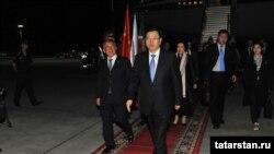Узган ел Кытай парламенты рәисе Татарстанга килде