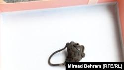 Naušnica s likom lava, foto: Mirsad Behram