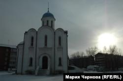 Храм Рождества Христова на месте авиакатастрофы в Иркутске-2