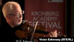 Gidon Kremer în concert la Academia Kronberg