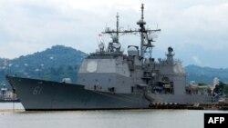 Американский корабль. Иллюстративное фото.