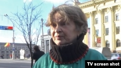 A friend of Lee Harvey Oswald from his days in Minsk, Inessa Yakhliel, is shown here in a screen grab on October 29, 2013.