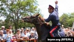 Джигит-шоу казаков в Симферополе. Иллюстрационное фото
