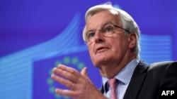 Представитель ЕС на переговорах по Брекзиту Мишель Барнье.