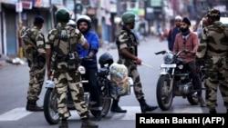 Sigurnosne službe na ulicama Džamua