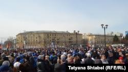 Антитеррористический митинг в Новосибирске