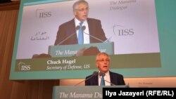 Aмериканскиот секретар за одбрана Чак Хејгел.