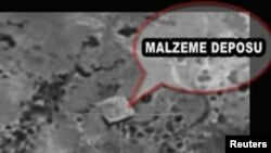 تصویری که ارتش ترکیه به عنوان یکی از نقاط استراتژیک پ کا کا منتشر کرده است