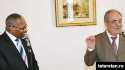 Миңтимер Шәймиев белән Әхмәт Мөхәммәт Али. Мөнәсәбәтләр җылы, тик аралашу тыгыз түгел