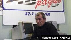 Юры Базан, галоўны рэдактар «Аўтарадыё». Архіўнае фота