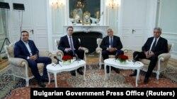 Лидери на Грција, Бугарија, Романија и на Србија на состанокот во Варна.