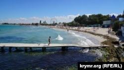 Крым, поселок Черноморское, иллюстрационное фото