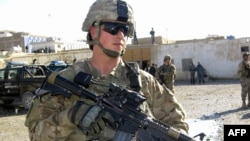 Американски војник во Кандахар.