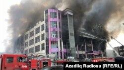 Бакудагы өрт. 26-март, 2019-жыл.