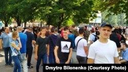 Противники «Маршу рівності» у Кривому Розі провели свою акцію