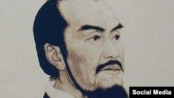 Император Цинь Шихуан. Современная картина, созданная по древним описаниям