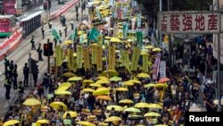 Hong Kong, 1. februar 2015.