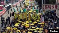 """""""Революция зонтиков"""" (Гонконг, 1 февраля 2015 г.)"""