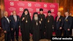 Архиепископы ПЦУ Климент и Евстратий лично поздравили нового архиепископа Америки с интронизацией, 16 июля 2019 года