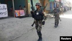 Правительственные силы безопасности в Джалалабаде