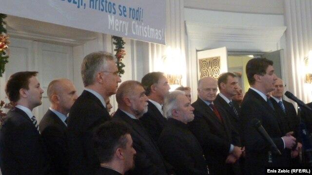 Domjenak u povodu pravoslavnog Božića