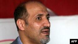 Սիրիայի ընդդիմության Ազգային կոալիցիայի առաջնորդ Ահմադ Ջարբա, դեկտեմբեր, 2013թ.