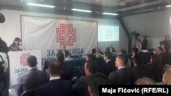 Sstanak predstavnika Srba sa Upravljačkim timom za izradu statuta zajednice u Zvečanu