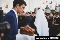 Московського патріарха Кирила зустрічають у столиці Білорусі Мінську