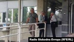Горан Грујевски пред Основен суд Скопје 1 по денешното судење за Тврдина 2