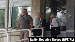 """Горан Грујевски по денешното судење за """"Тврдина 2""""."""
