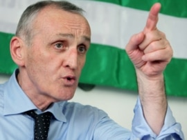 The U.S. has not recognized Aleksandr Ankvab as the newly elected president of Abkhazia.